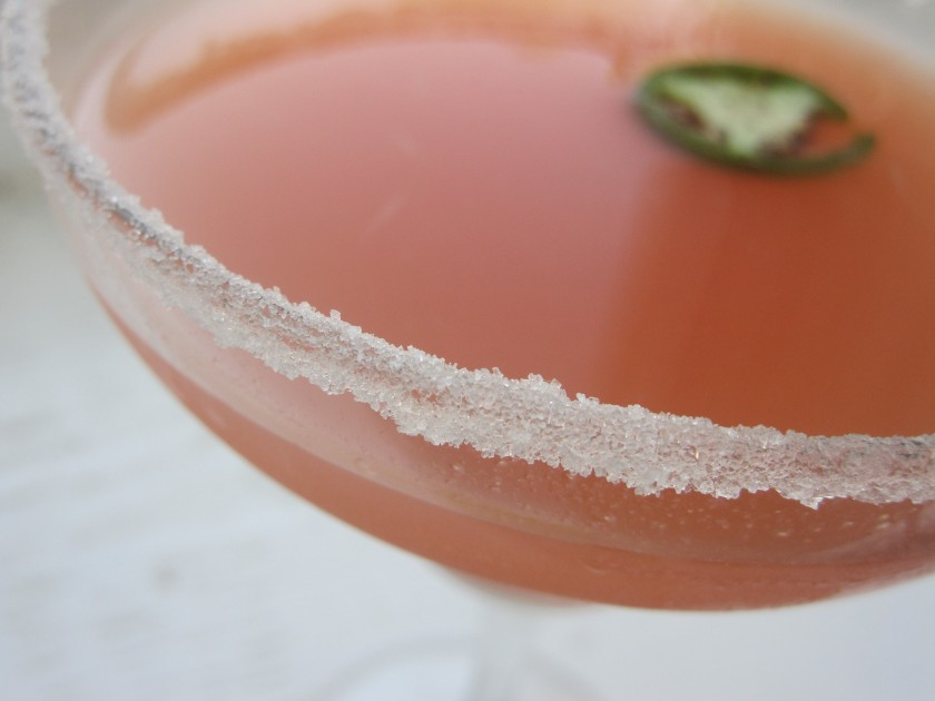 jalapeno guava margaritas