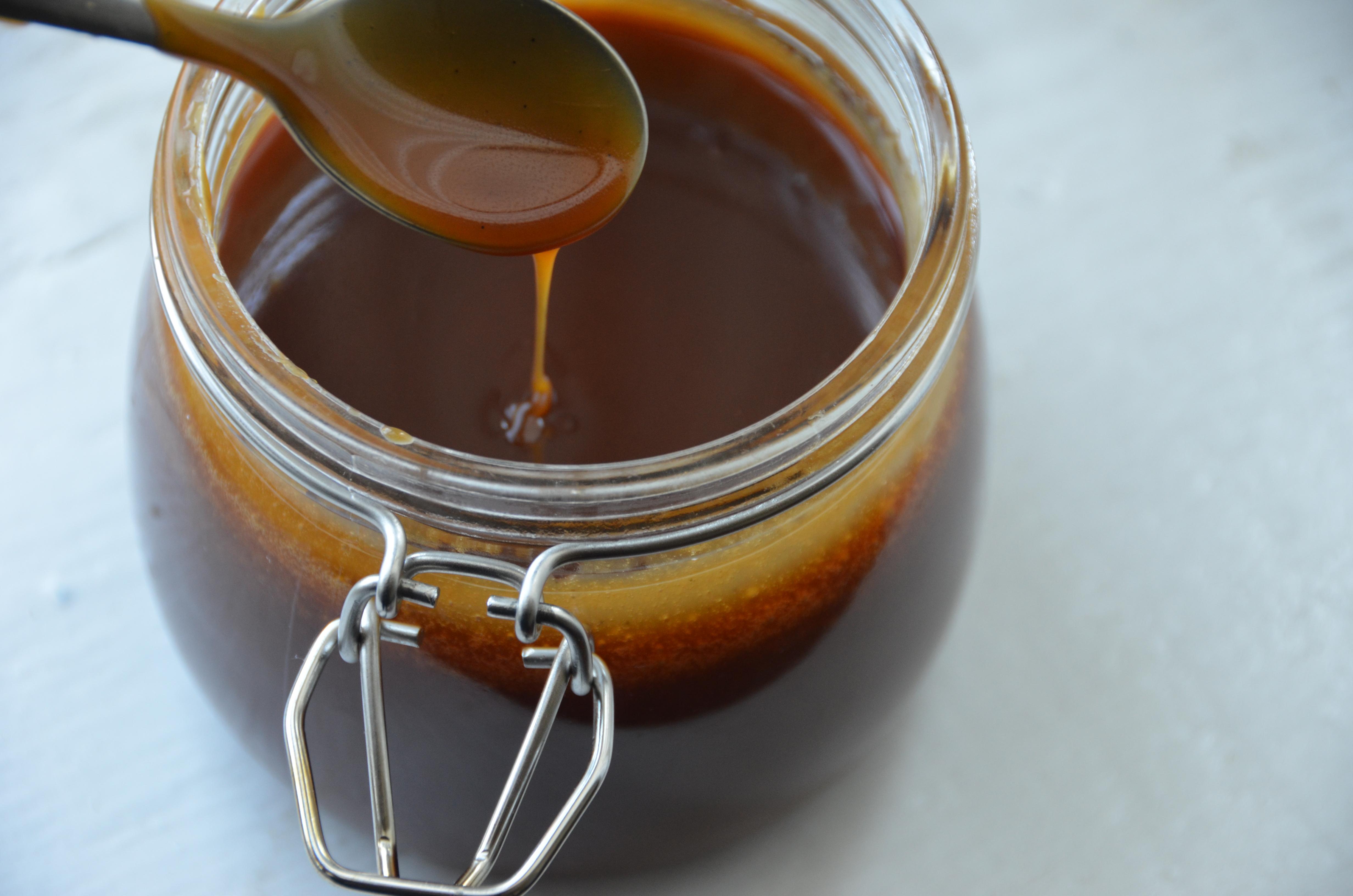 Fleur de Sel Caramel Sauce | PrettyGirlsCook by Candice Birdsong