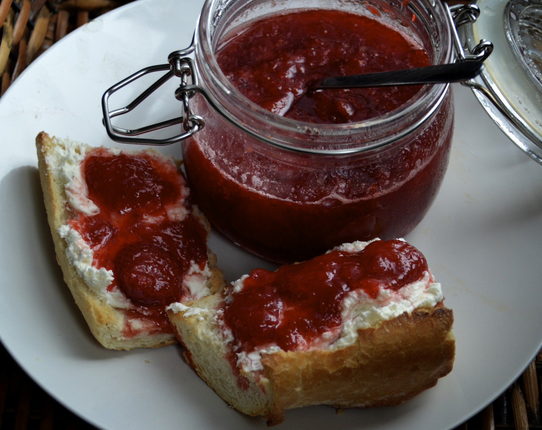 Strawberry Preserves | PrettyGirlsCook by Candice Birdsong