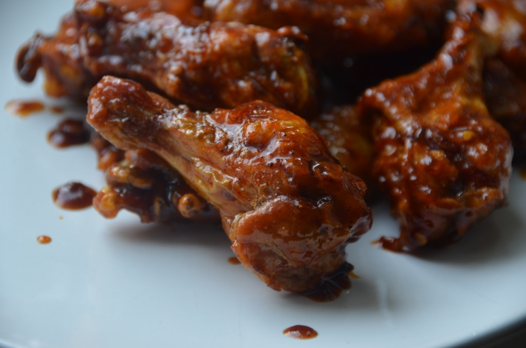 crispy baked five spice wings