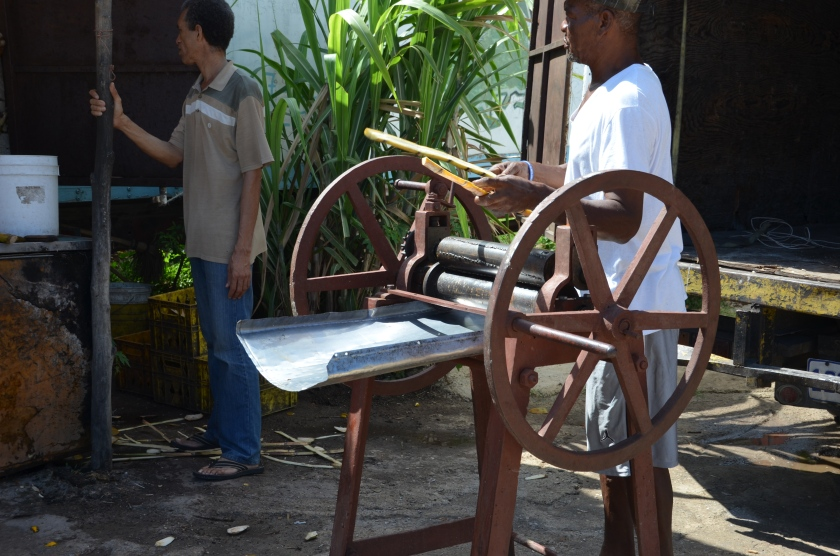 sugar cane press jamaica