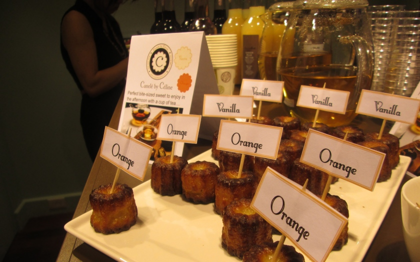 orange canele by celine