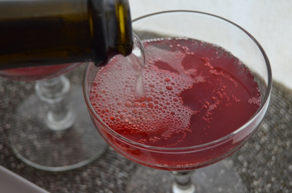 cranberry sparkler cocktail