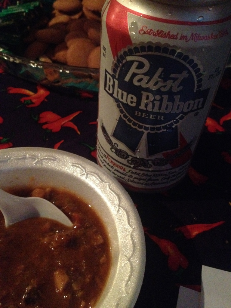 philly chili bowl chili and pabst