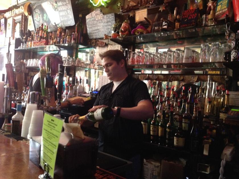 bartender Evan Erin Rose