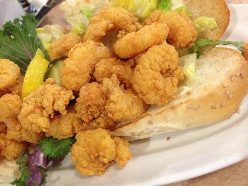 deanie's shrimp po boy