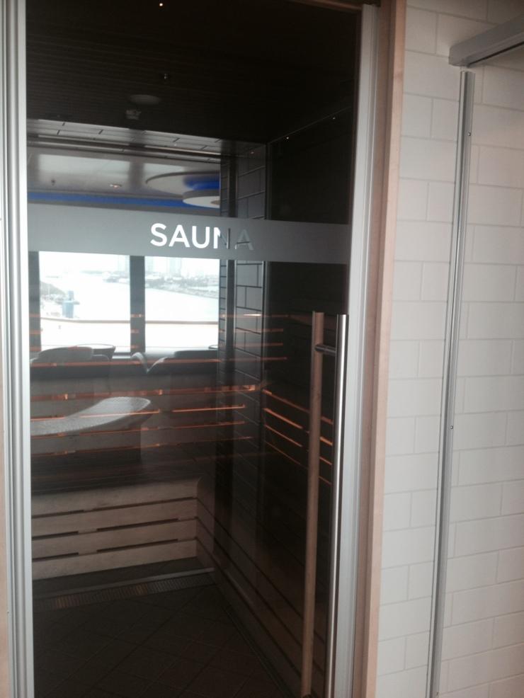 norwegian getaway sauna