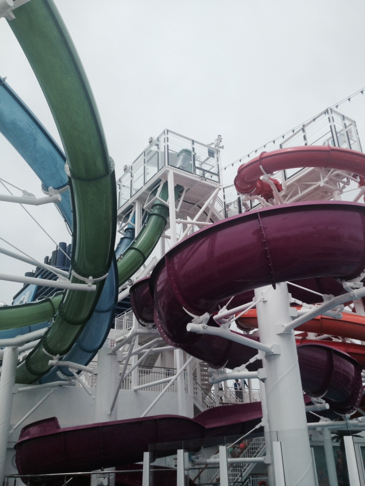 water slides norwegian getaway