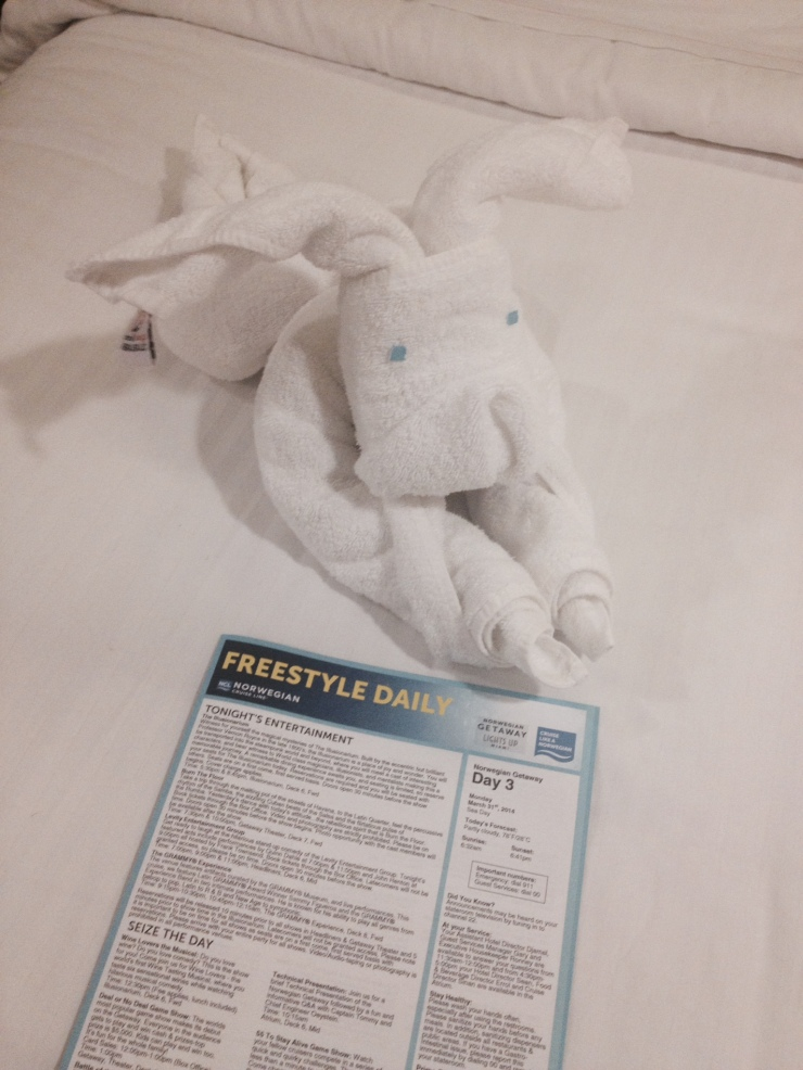 towel animal norwegian getaway