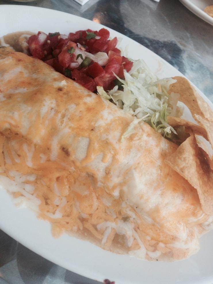 pastor smothered burrito alma mexicana