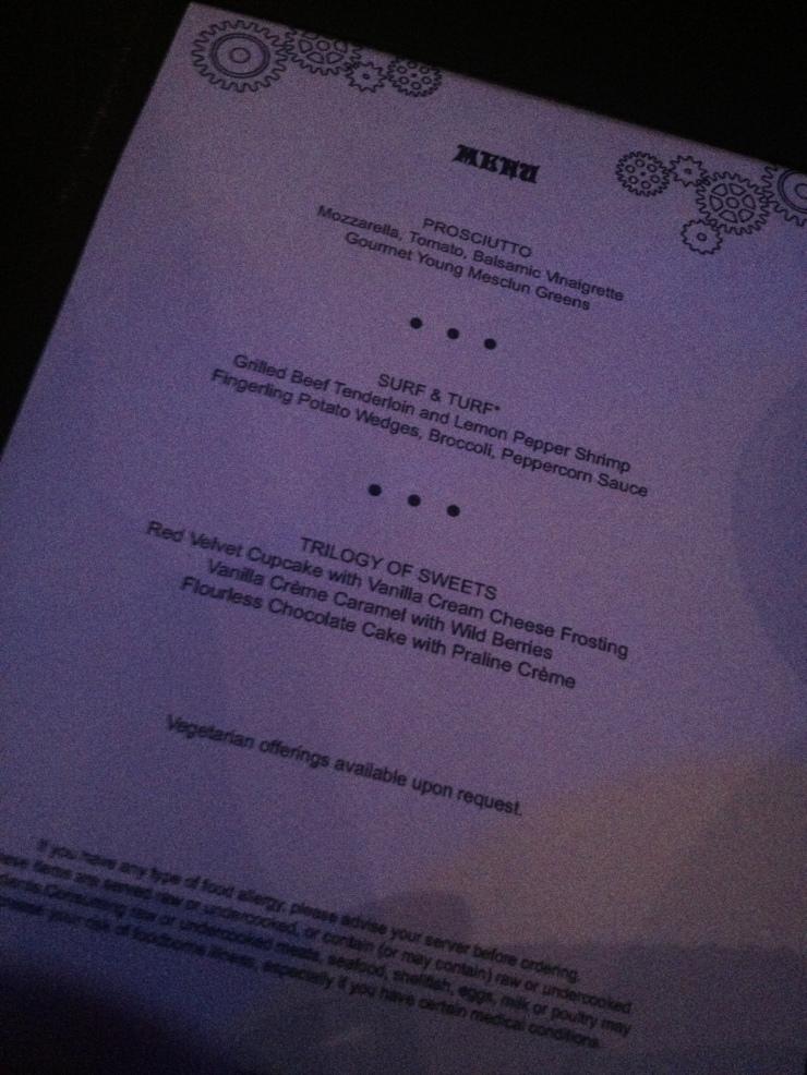 norwegian getaway illusionarium menu