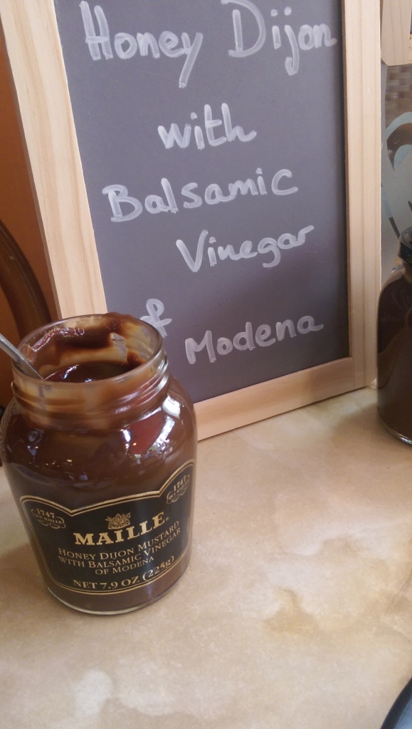 maille honey dijon with balsamic and modena