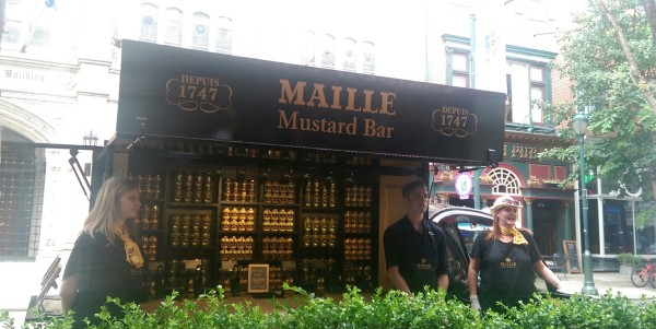 maille mobile mustard bar
