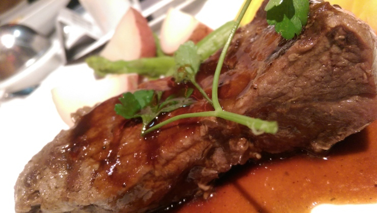 carnival conquest strip steak