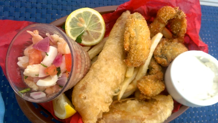 carnival conquest fish and chips