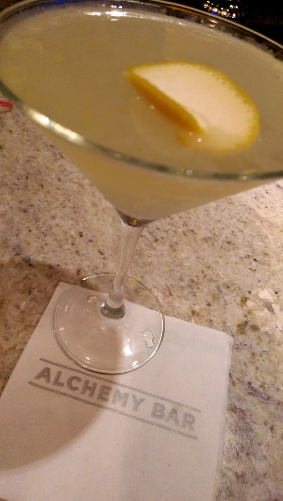 carnival alchemy bar fiery tropical passion martini