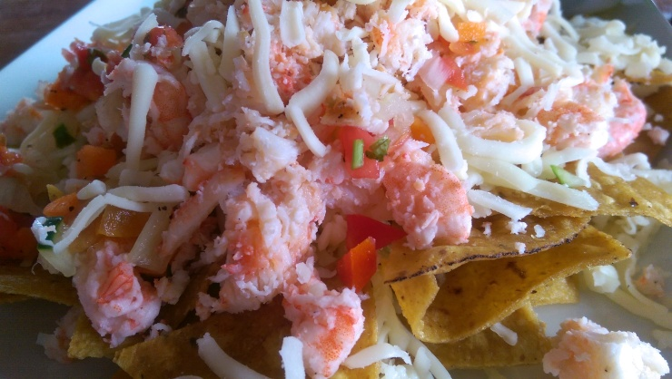 tender bar and grill lobster nachos