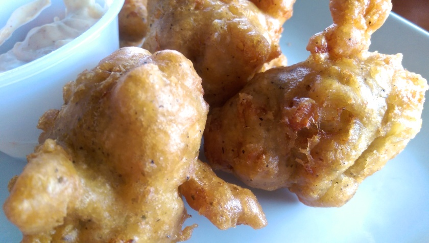 tender bar and grill conch fritters