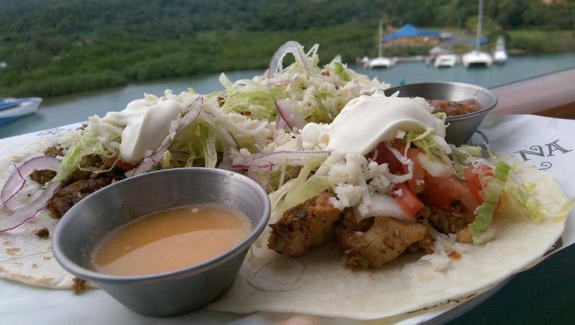 tacos carnival blue iguana cantina