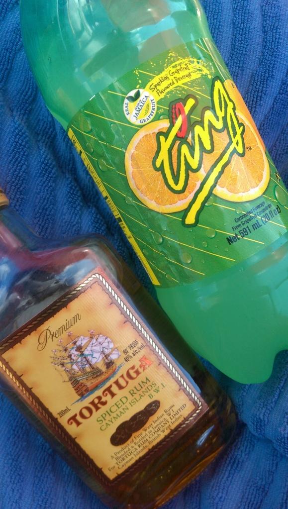 tortuga rum and ting