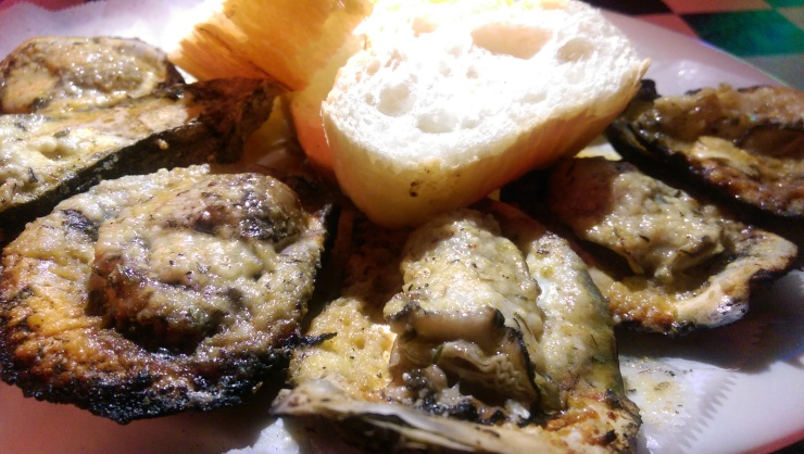 acme char grilled oysters