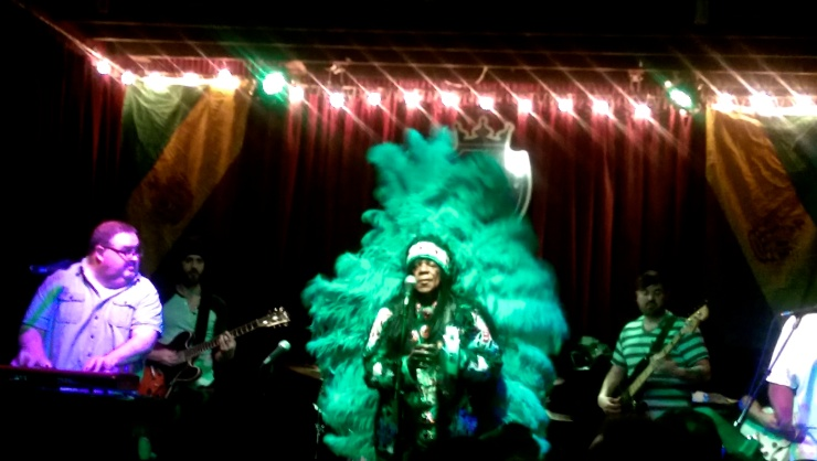 big chief monk boudreaux at d.b.a new orleans