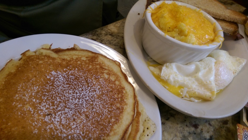 big easy breakfast flour de lis new orleans