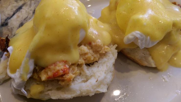 seafood benedict flour de lis new orleans