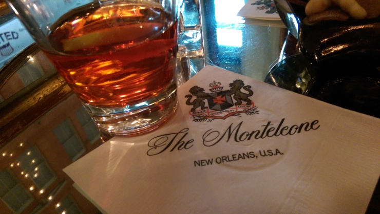 sazerac at carousel bar new orleans