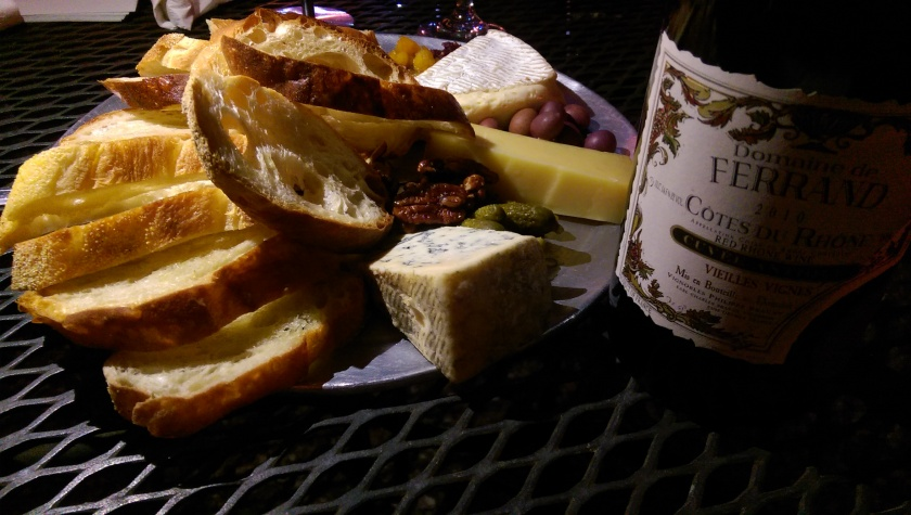 cheese plate bacchanal wine new orleans