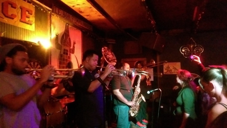 soul rebels at le bons temps roule