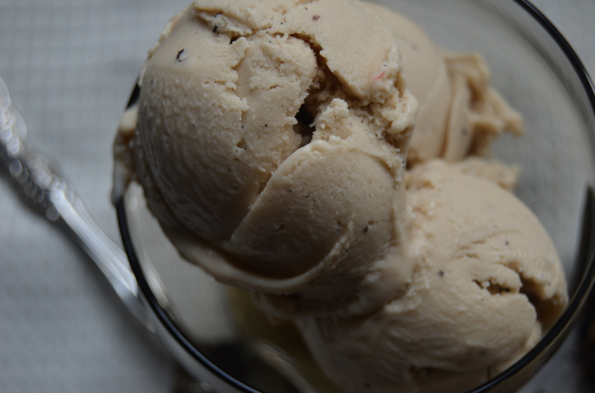 vegan coconut chai ice cream