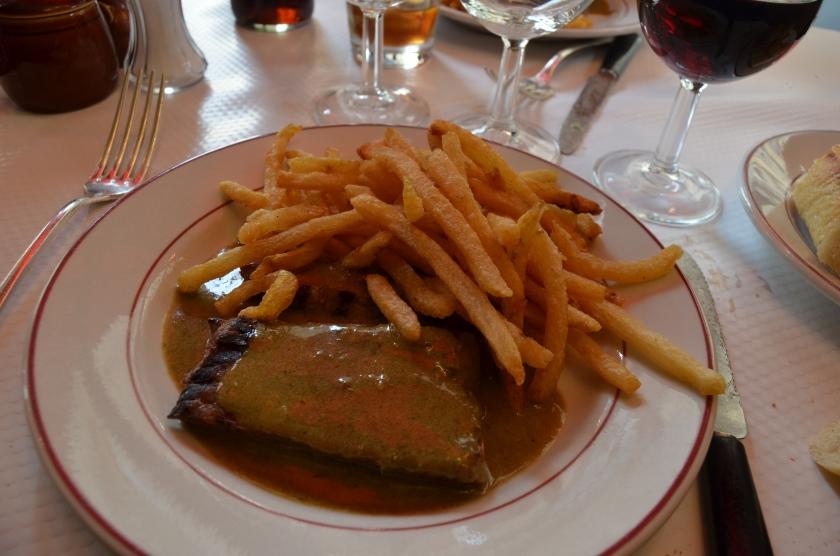 steak frites relais de l'entrecote