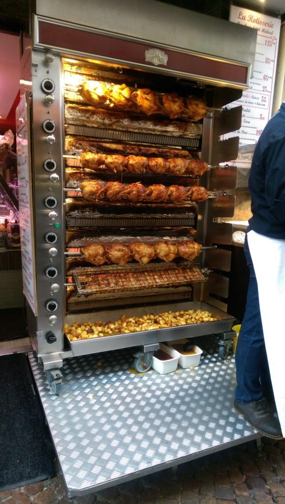 rotisserie chicken rue muaffetard