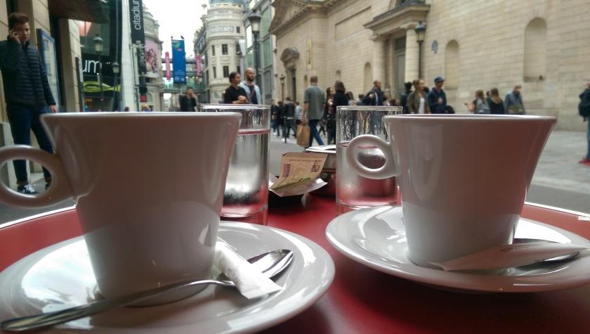 cafe creme at Le Printanier paris