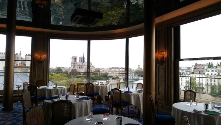 Tour d'Argent Paris view of Notre Dame