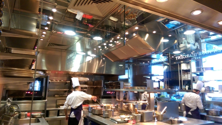 Tour d'Argent Paris kitchen