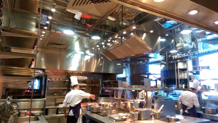 Tour d'Argent Paris kitchen