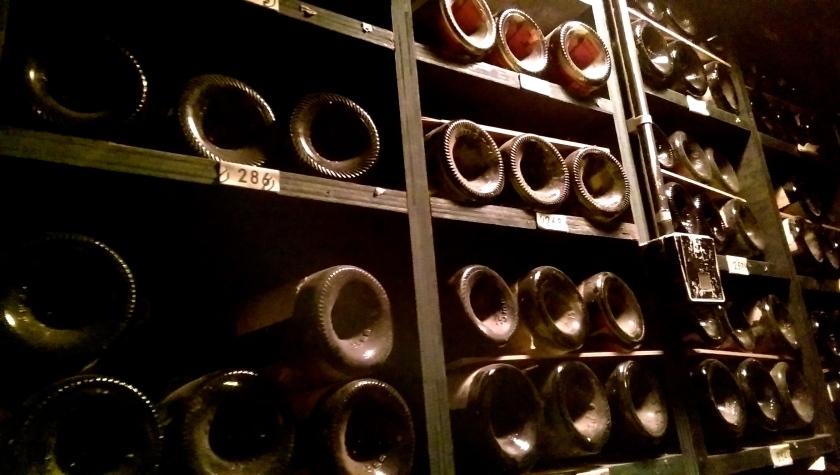 Tour d'Argent Paris wine cellar