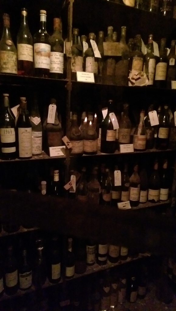 Tour d'Argent Paris wine cellar