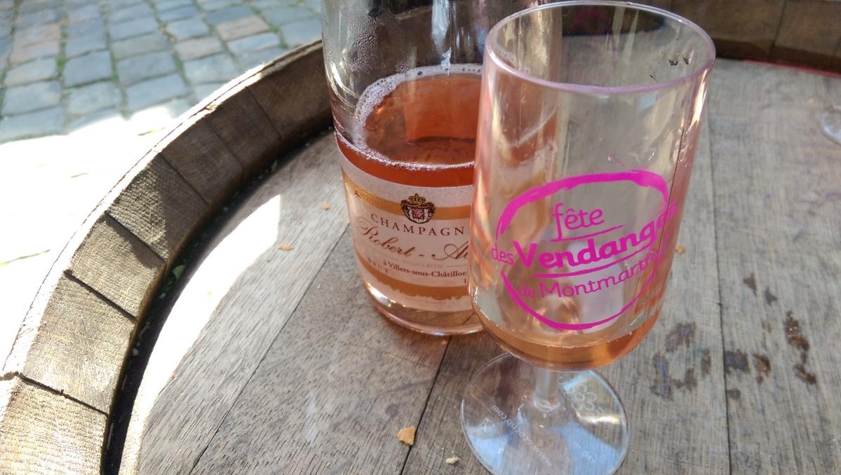 Fête des Vendanges de Montmartre champagne