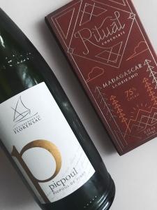 Picpoul de Pinet and Ritual Madagascar Chocolate